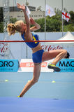 Ukraine athlete royalty free stock photos