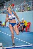 Ukraine athlete Stock Image