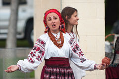 Ukraine Authentic Vocal Group Royalty Free Stock Photography