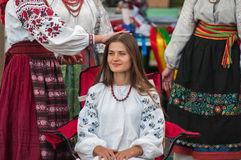 Ukraine Authentic Vocal Group Royalty Free Stock Image
