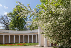 UKRAINE, BELAYA TSERKOV : Echo Colonnade  in the Park of Alexand Royalty Free Stock Photo