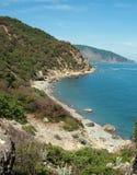 Ukraine Black Sea beach Royalty Free Stock Photo