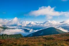 Ukraine, Carpathians mauntains, Сhernogirskiy array Royalty Free Stock Photos