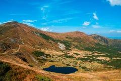 Ukraine, Carpathians mauntains, Сhernogirskiy array Stock Photography