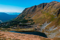 Ukraine, Carpathians mauntains, Сhernogirskiy array Royalty Free Stock Image