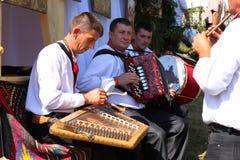 Ukraine celebration - Festival Hutsul brynza Stock Images