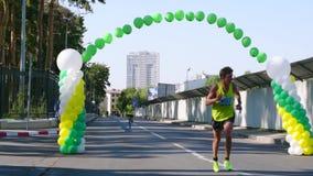 Ukraine, Charkiw 20. August 2017: Endteilnehmer des Rennens