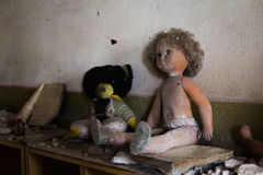 Free UKRAINE. Chernobyl Exclusion Zone. - 2016.03.19. Old  Dolls In The Abandoned Kindergarten Stock Photo - 69019580