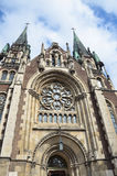 Ukraine, church of saints Olga and Elizabeth in Lviv Royalty Free Stock Photos