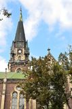 Ukraine, church of saints Olga and Elizabeth in Lviv Stock Photography