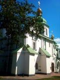 Ukraine  Church.  The Sophia Cathedral. Stock Photo