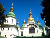 Ukraine  Church.  The Sophia Cathedral. Stock Photography