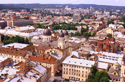 Ukraine. The city of Lvov. Royalty Free Stock Photo