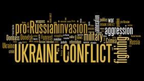 Ukraine conflict Royalty Free Stock Photography