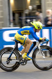 Ukraine, Demidova Olena. UCI road world championshi Stock Images