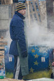 Ukraine euromaidan in Kiev Stock Photography