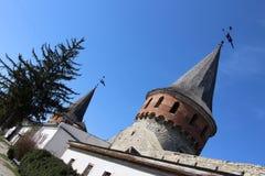 ukraine för town för podilskyi för slottkamianets gammal sikt Royaltyfria Foton
