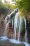 ukraine för upplösning för panorama för crimea djur hög vattenfall royaltyfria foton