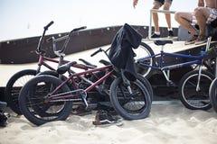 Ukraine Festival Z-games, August 2015. Odessa, Zatoka. BMX Bicycles Royalty Free Stock Image