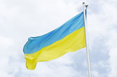 Ukraine flag Royalty Free Stock Image