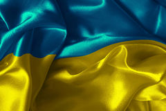 Ukraine flag. Abstract background with  Ukraine flag Stock Image