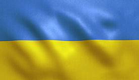Ukraine Flag Royalty Free Stock Photography