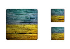 Ukraine flag Buttons Royalty Free Stock Image