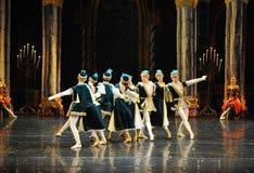Ukraine flute dance-The prince adult ceremony-ballet Swan Lake Royalty Free Stock Image