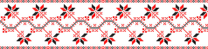 ukraine folk motifs Stock Images