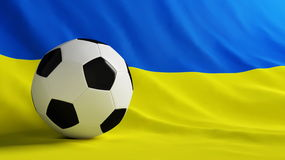 Ukraine football Stock Photo