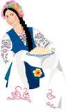 Ukraine girl Royalty Free Stock Photo