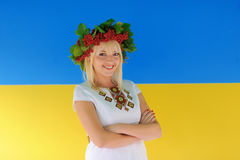Ukraine girl Stock Photo