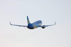 Ukraine International Airlines Boeing 737 Photographie stock libre de droits