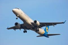 Ukraine International Airlines Embraer ERJ-190 Stock Image