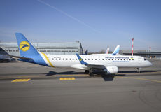 Ukraine International Airlines Stock Image