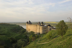 Ukraine. Kamenets-Podolsky. Hotin fortress Stock Photo