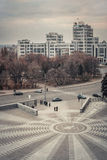 Ukraine. Kharkov. central square Royalty Free Stock Photo