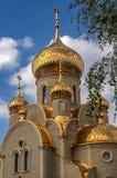 Ukraine, Khartsizk . Orthodox Church of the Iberian Icon of the Stock Photography