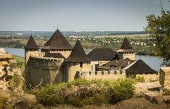 Ukraine, Khotyn, Castle Royalty Free Stock Photography