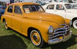 Ukraine, Kiev April-27 2018: Exhibition of retro cars at the exhibition., Kiev April-27 2018 Stock Photography