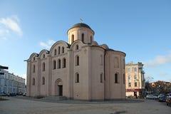 Ukraine. Kiev. Assumption of the Virgin Mary Church Pirogoscha Stock Photos
