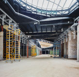 UKRAINE, KIEV. Boutique zone. Progress in the construction of shopping mall Republic Stock Photo