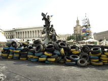 Ukraine in Kiev. Royalty Free Stock Photos