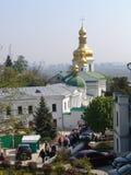 ukraine kiev kiev lavrapechersk Royaltyfri Foto