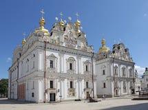 ukraine kiev kiev lavrapechersk Domkyrka av Dormitionen Arkivbilder