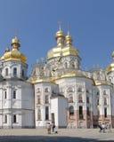 ukraine kiev kiev lavrapechersk Domkyrka av Dormitionen Arkivbild
