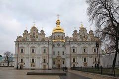 ukraine kiev kiev lavrapechersk Domkyrka av Dormitionen Arkivfoto