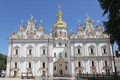 ukraine kiev kiev lavrapechersk Domkyrka av Dormitionen Royaltyfri Foto