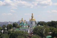 ukraine kiev Kiev Pechersk Lavra sikt Fotografering för Bildbyråer
