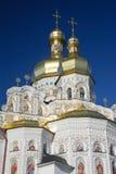Ukraine. Kiev. Kievo-Pecherskaya lavra. Cathedral. Of the Assumption. Detail view Stock Photos
